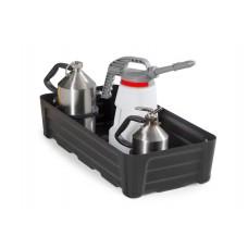Kleingebindewanne SC-P 40, aus PE, Auffangvolumen 40 Liter