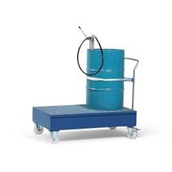 Fahrbare Auffangwanne FSR2 aus Stahl, lack., für 2 x 200 l Fässer, inkl. Zurrgurt, Befestigungsbügel kaufen