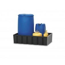 Auffangwanne PolySafe Euro W-200 aus PE, für 1 Fass à 200 Liter