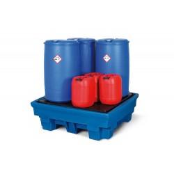 Auffangwanne PolySafe Premium PP4 aus Polyethylen (PE), für 4 Fässer à 200 Liter kaufen