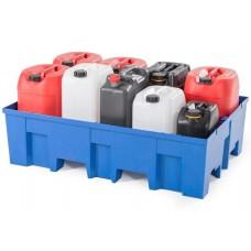 Kunststoff-Auffangwanne PolySafe Euroline Typ F2-200 W ohne Gitterrost