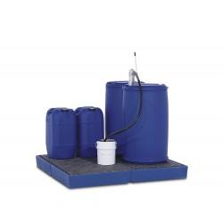 Bodenelement BK 15.15 aus Polyethylen (PE), mit PE-Gitterrost, 1500 x 1500 x 150 mm kaufen