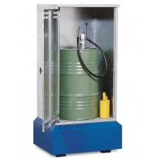 Fass-Schrank FSB 8.8 für 1 Fass à 200 Liter