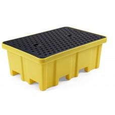 Auffangwanne Typ RPW-2 ECO, für 2 Fässer a 200 Liter oder diverse Kleingebinde